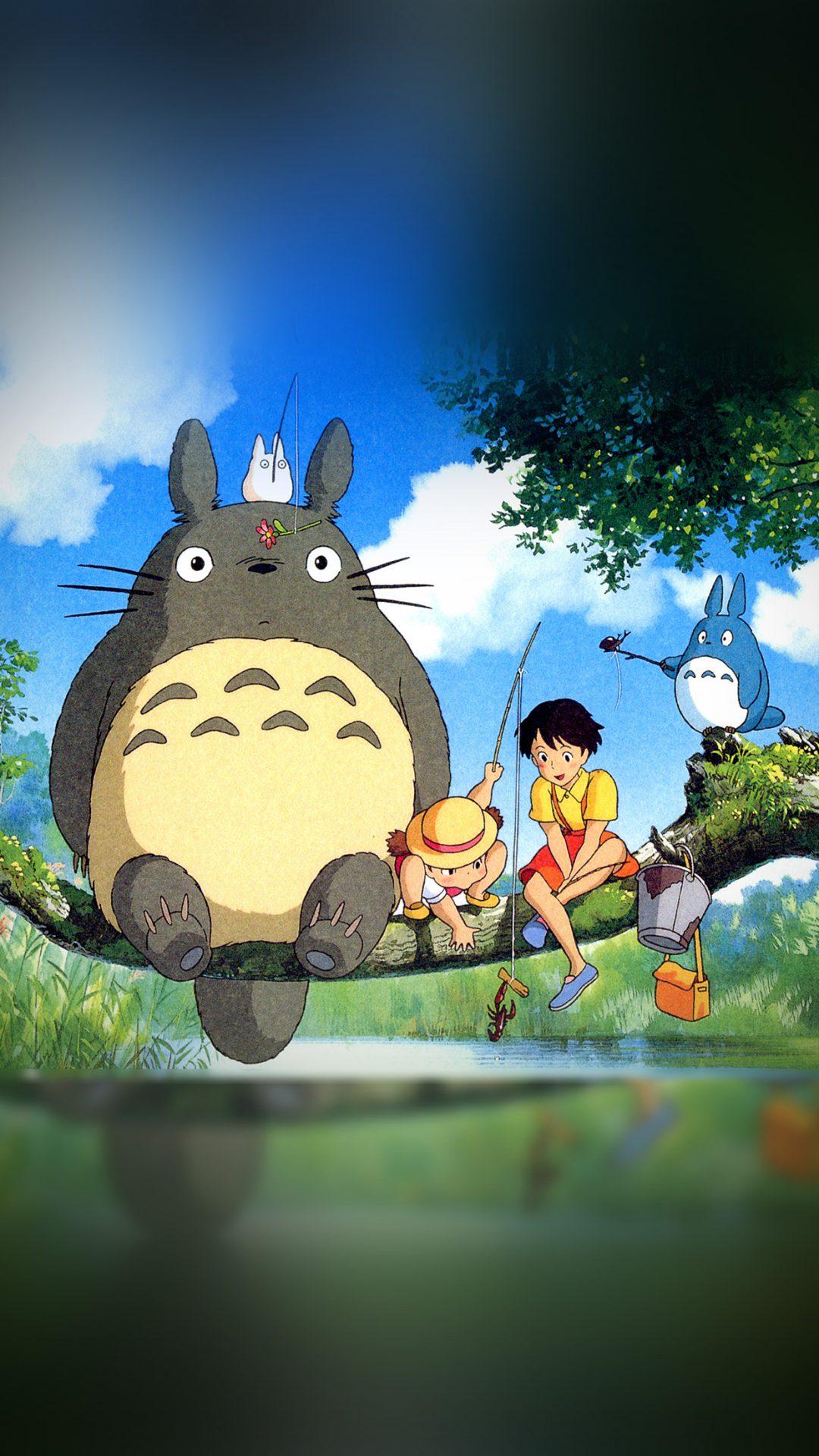 My Neighbor Totoro Anime Art Illustration
