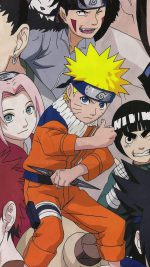 Naruto And Friends Art Game Illust
