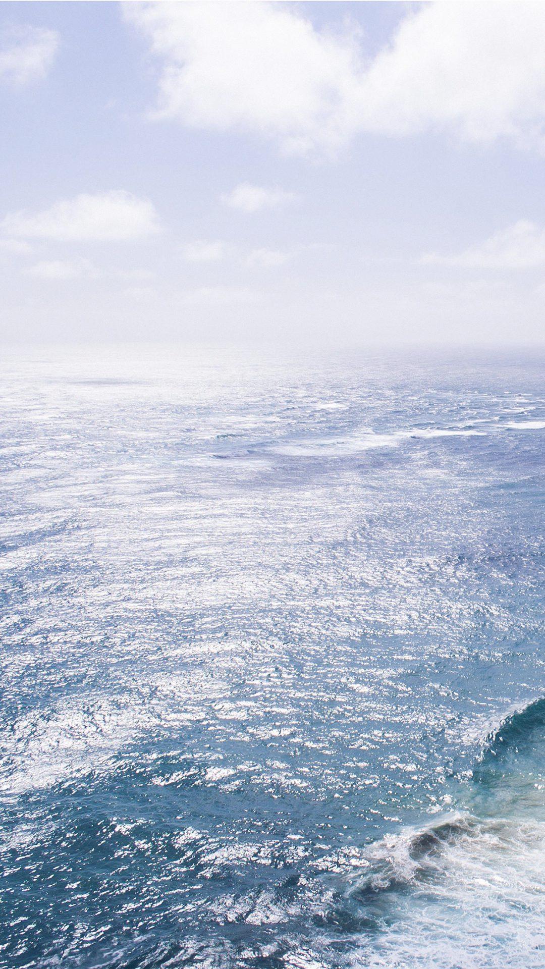 Nature Sea Blue Wave Ocean