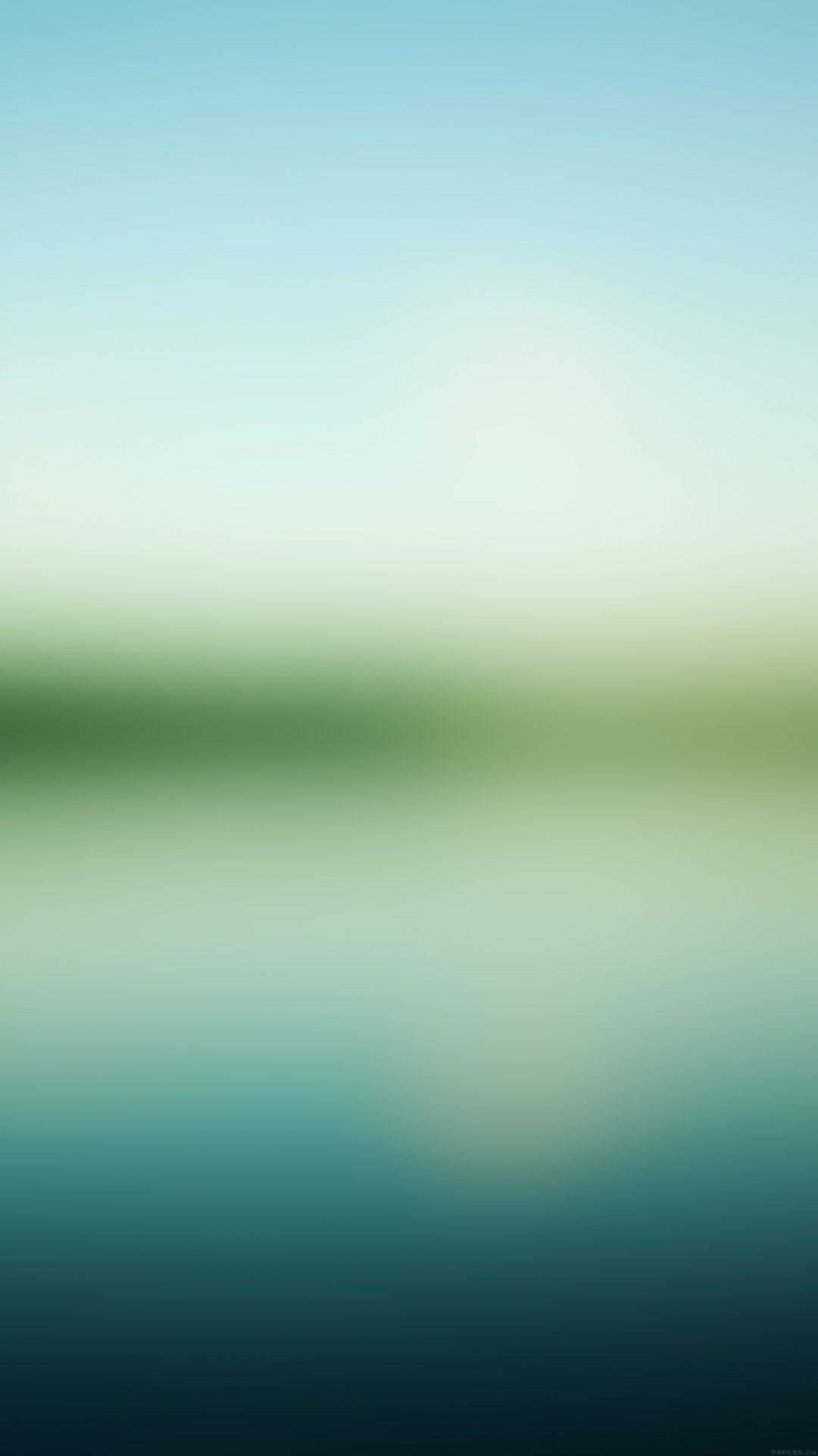 Nature Sea River Green Gradation Blur