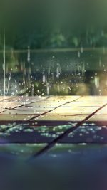 Rainning Illustration Anime Art Nature