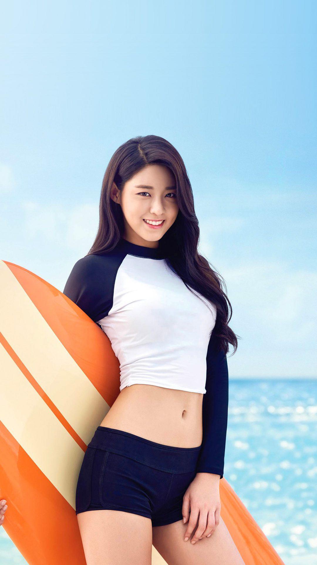 Seolhyun Aoa Kpop Sea Sumner Cute Swimsuit