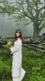 She Is Happy Kpop Wedding Photo