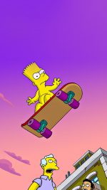 Simpson Anime Cartoon Bart Nude Art Illustration