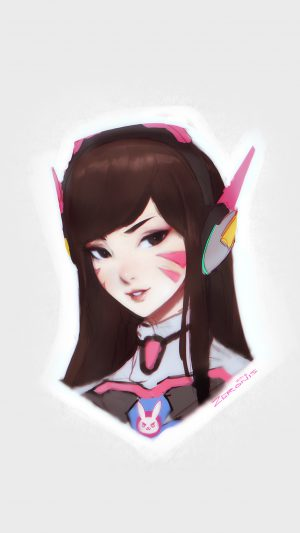Song Hana Overwatch Chracter Game Illustration Art