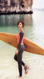 Sujin Beach Swim Vacation Kpop Film