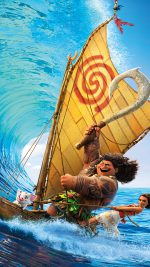 Surf Moana Disney Film Anime Illustration Art
