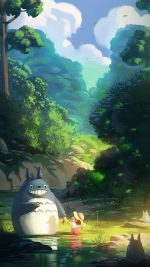 Totoro Anime Liang Xing Illustration Art