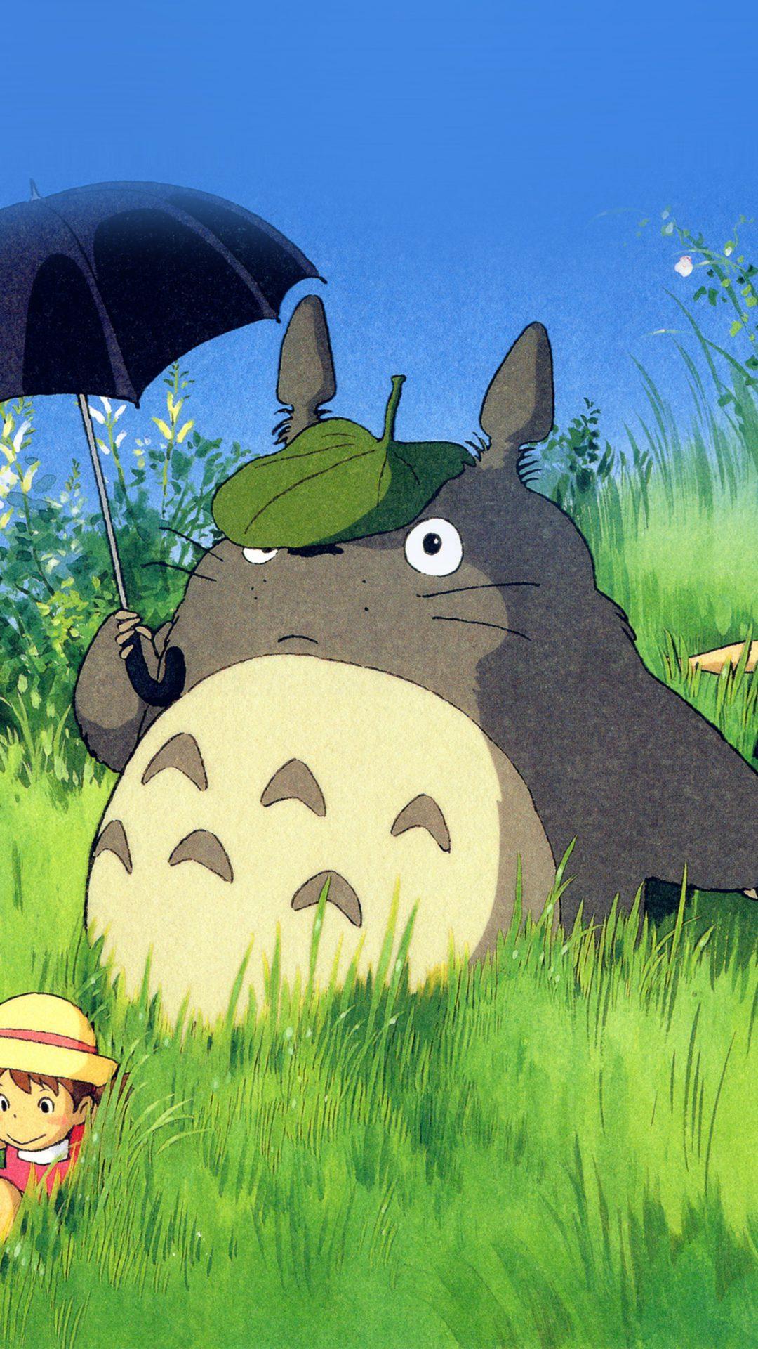 Totoro Art Cute Anime Illustration