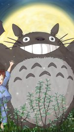 Totoro Forest Anime Cute Illustration Art