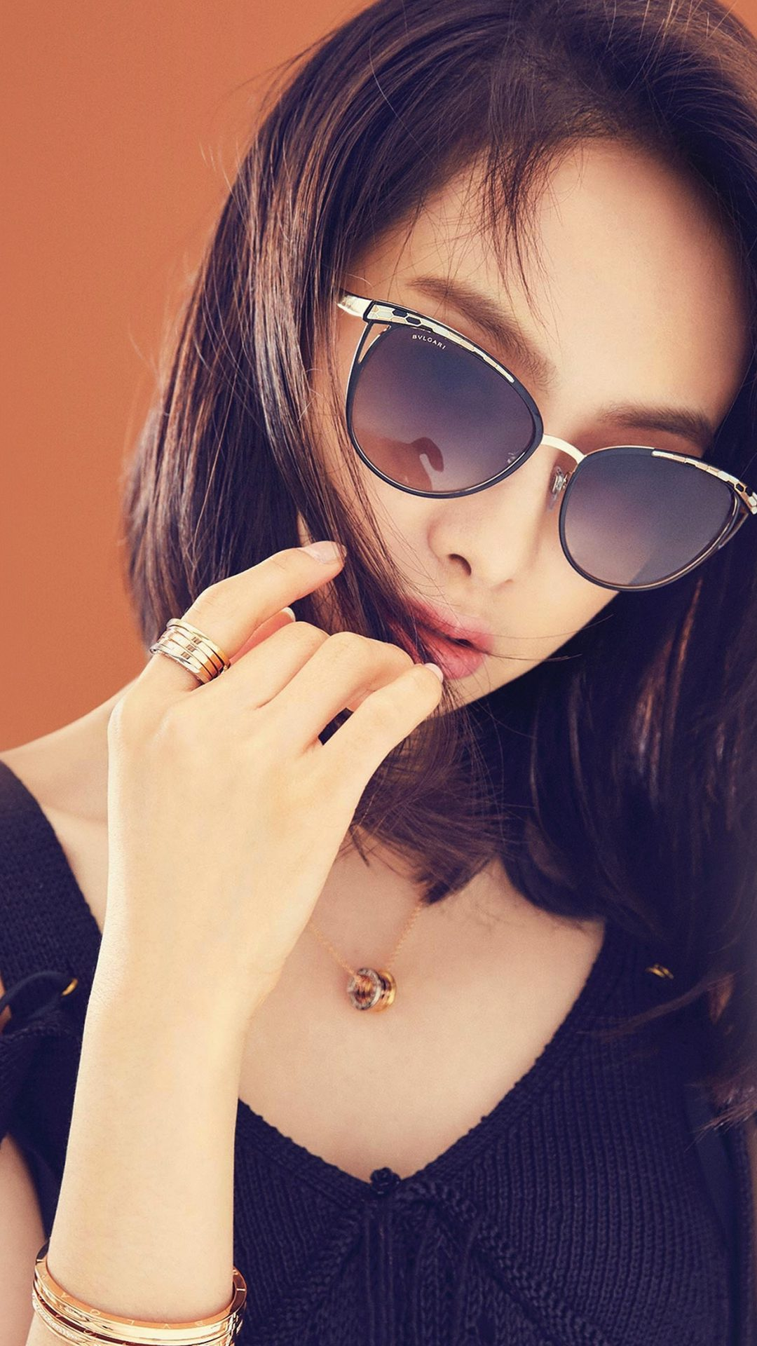 Victoria Kpop Girl Sunglass Beauty