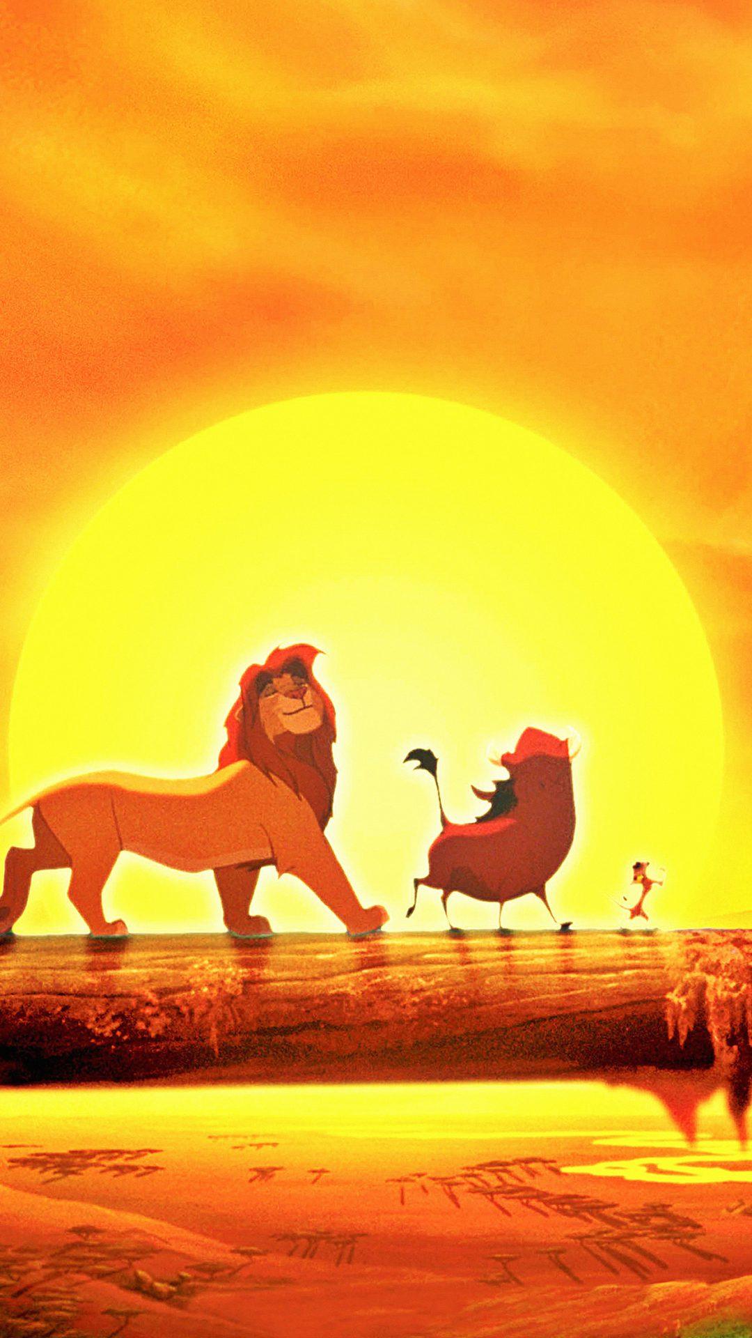 Walt Disney Lion King Anime Art Poster