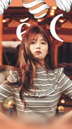 Yoojung Kpop Girl Orange Ceci Model