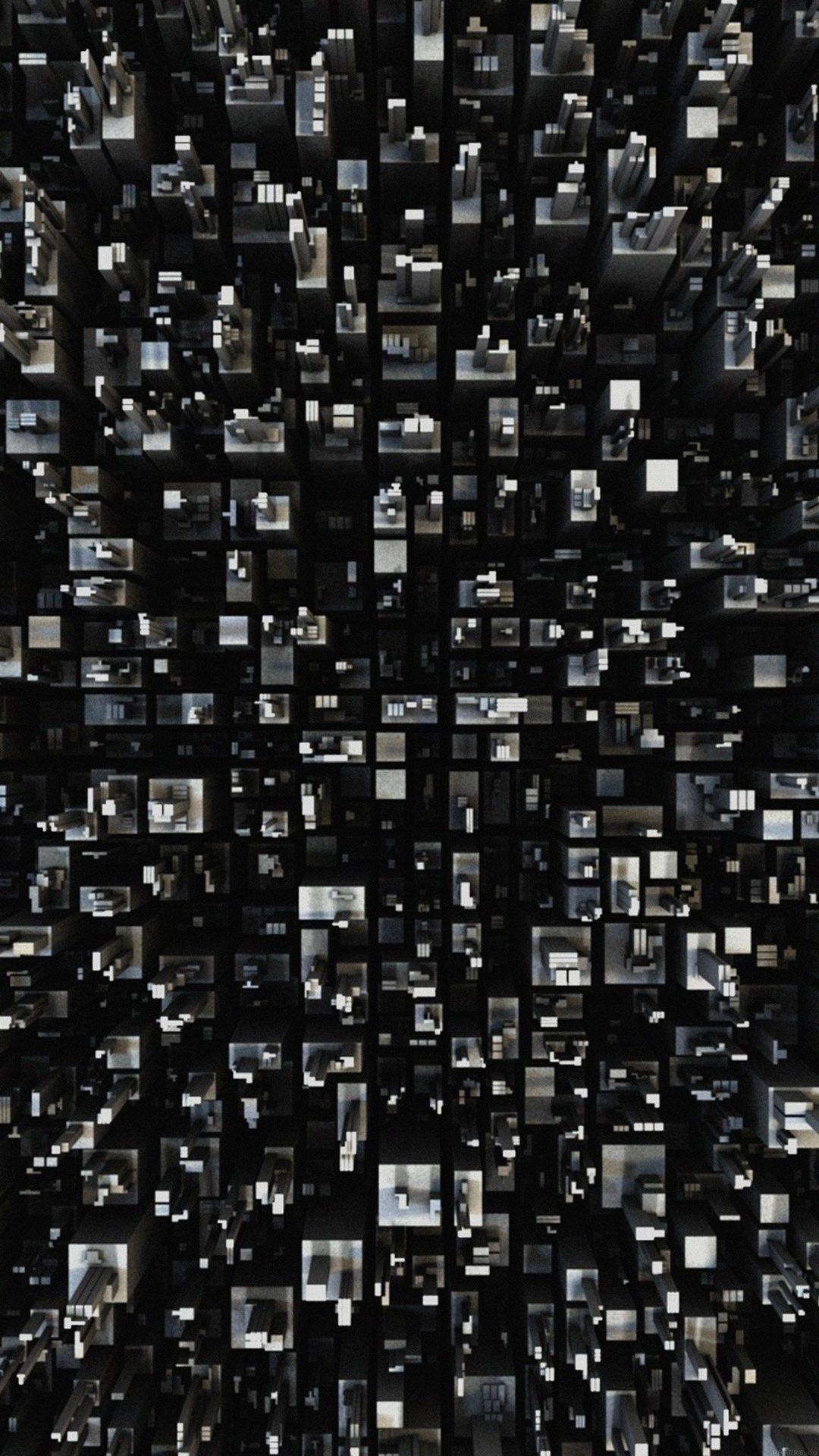 3d Art Building Pattern
