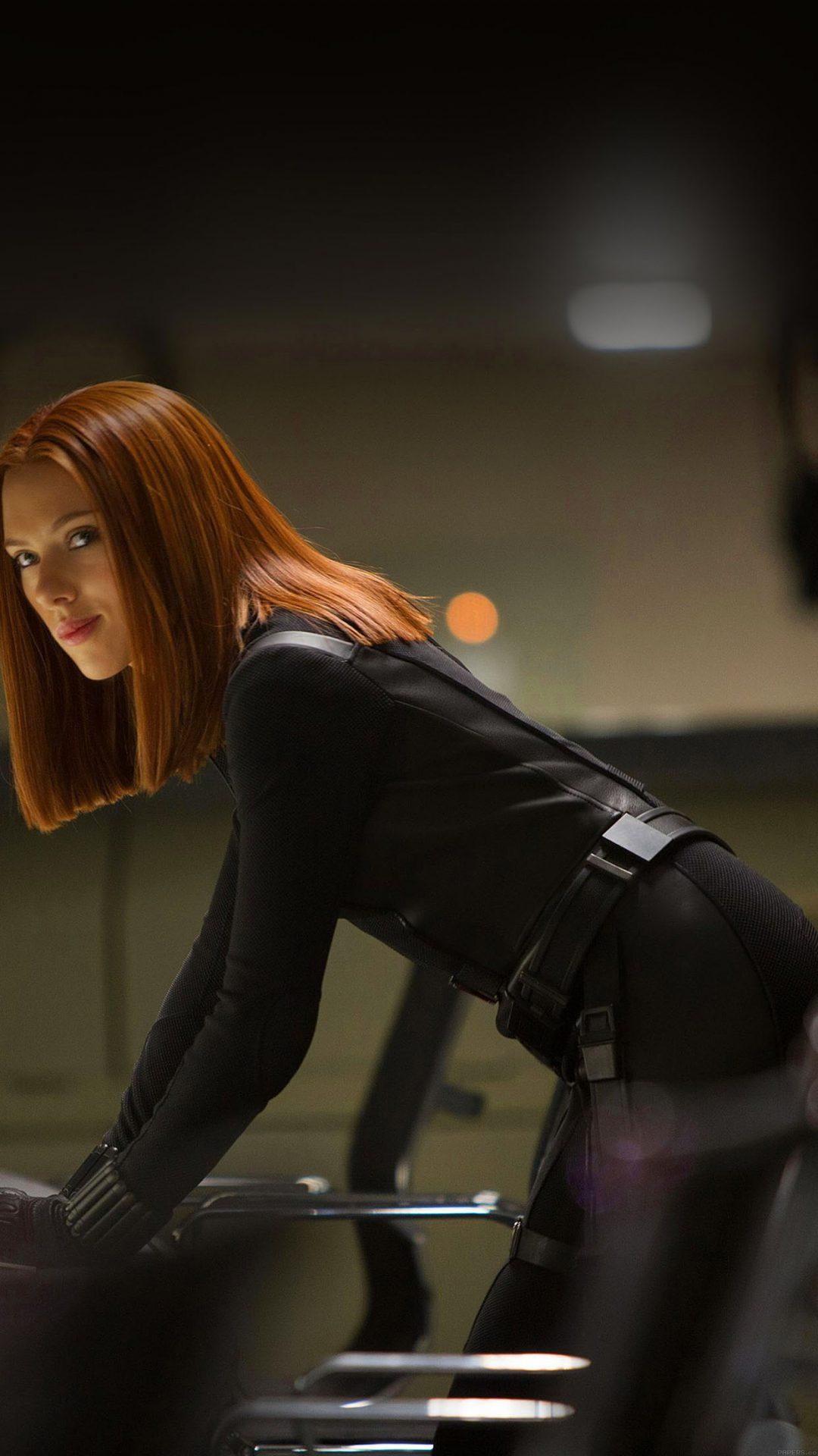 Ack Widow Scarlett Johansson Face Film