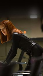 Ack Widow Scarlett Johansson Face Film