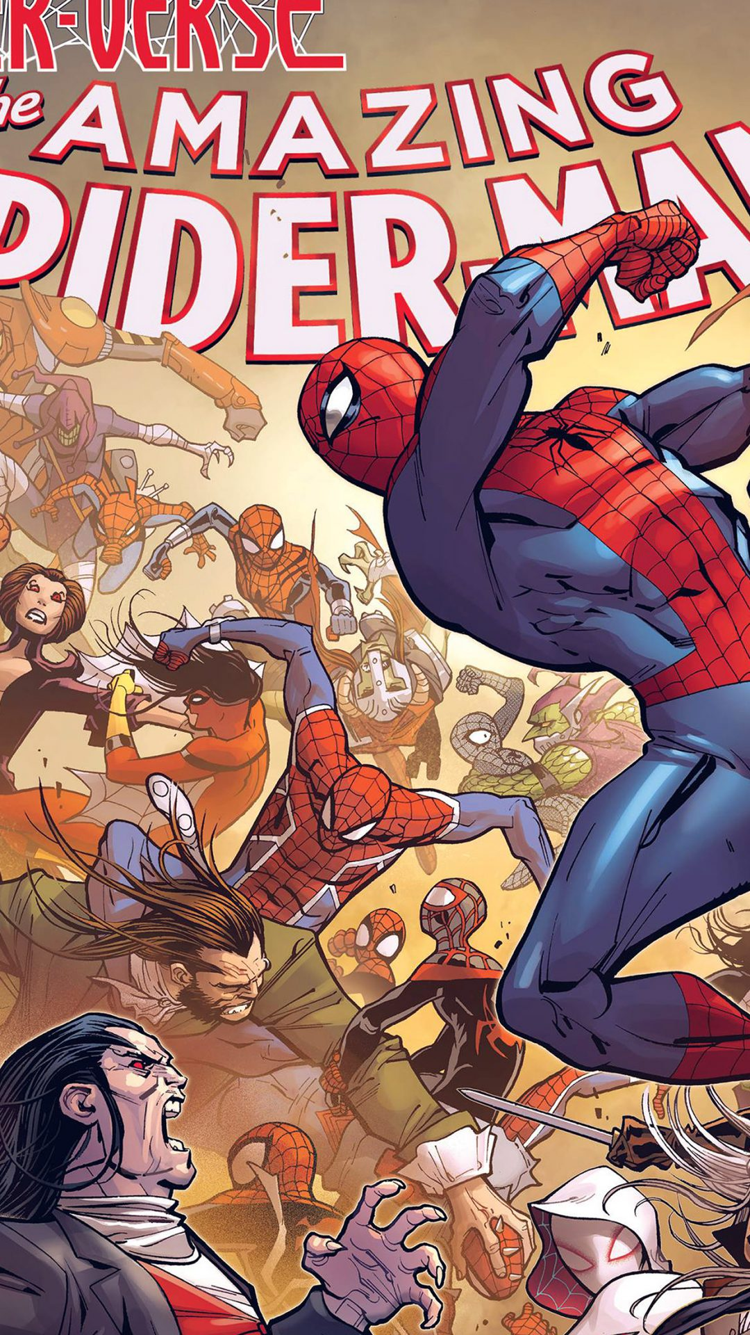 Amazing Spiderman Comics Game Film Illust Art Hero