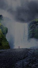 Apple 5k Mac Nature Mountain Fall Dark