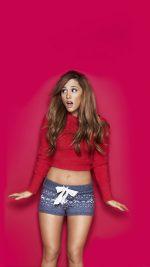 Ariana Grande Feb 14 Music Girl Face