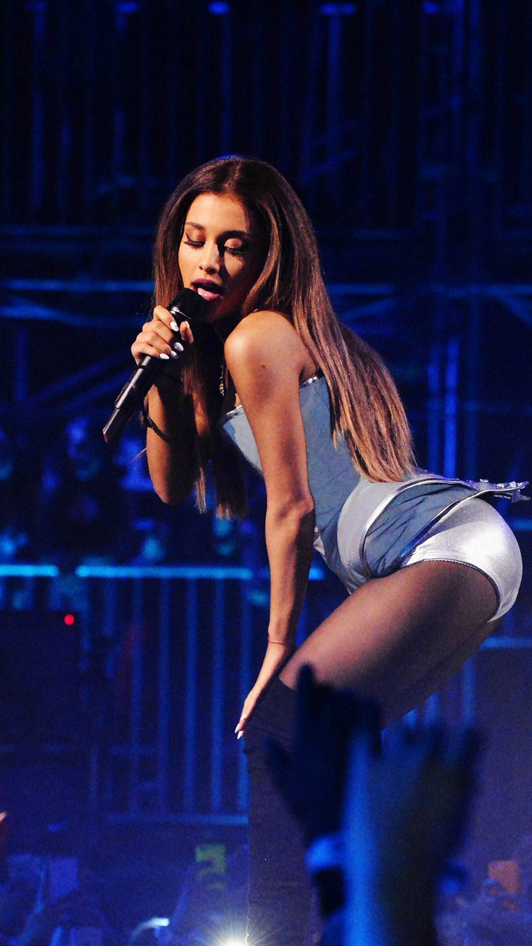 Ariana Grande Music Concert Blue