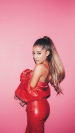 Ariana Grande Pink Pose Music Girl