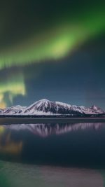 Aurora Night Sky Green Bokeh Instagram Art Nature