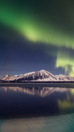 Aurora Night Sky Instagram Art Nature