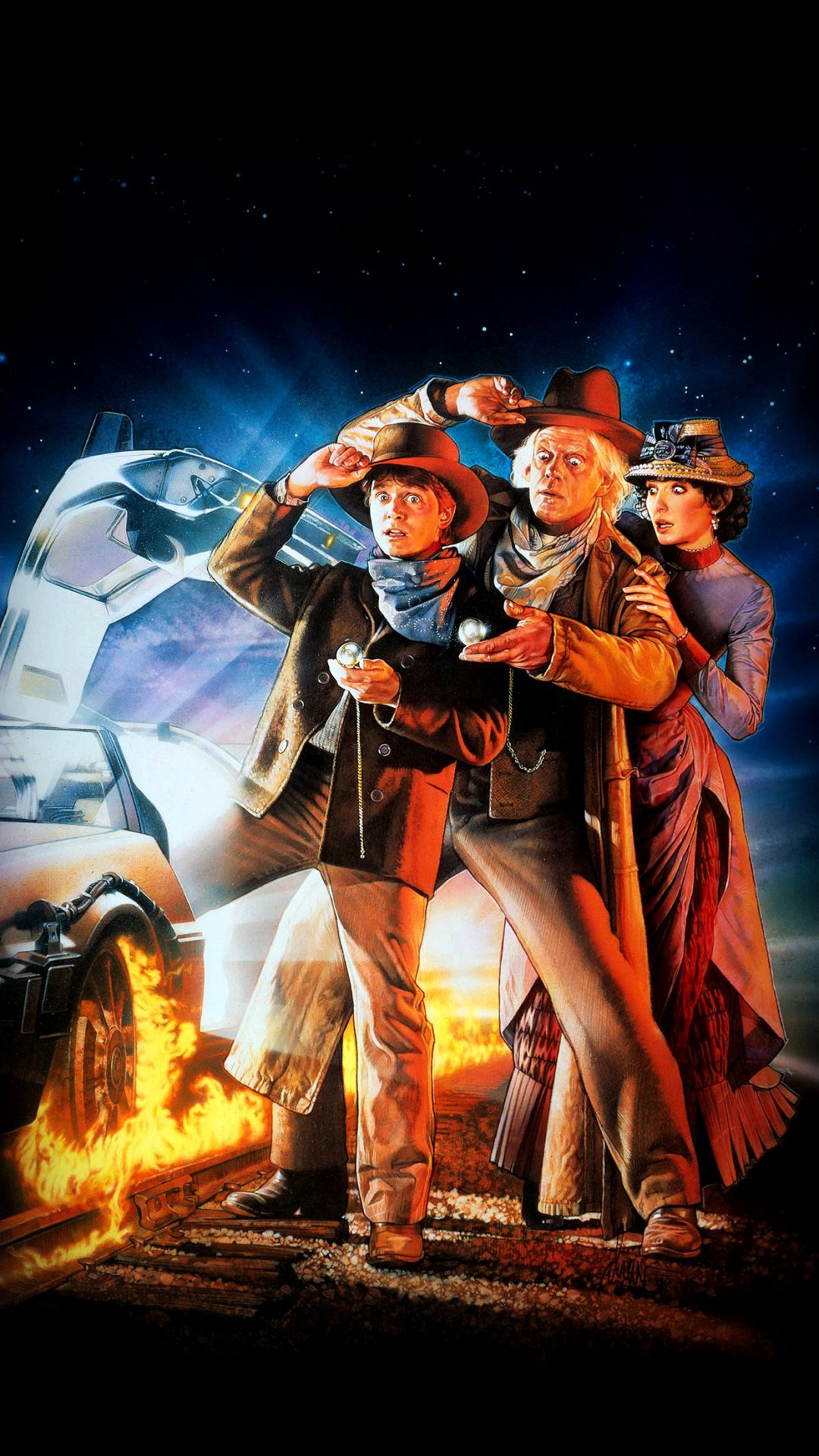 Back To The Future 3 Poster Film Art