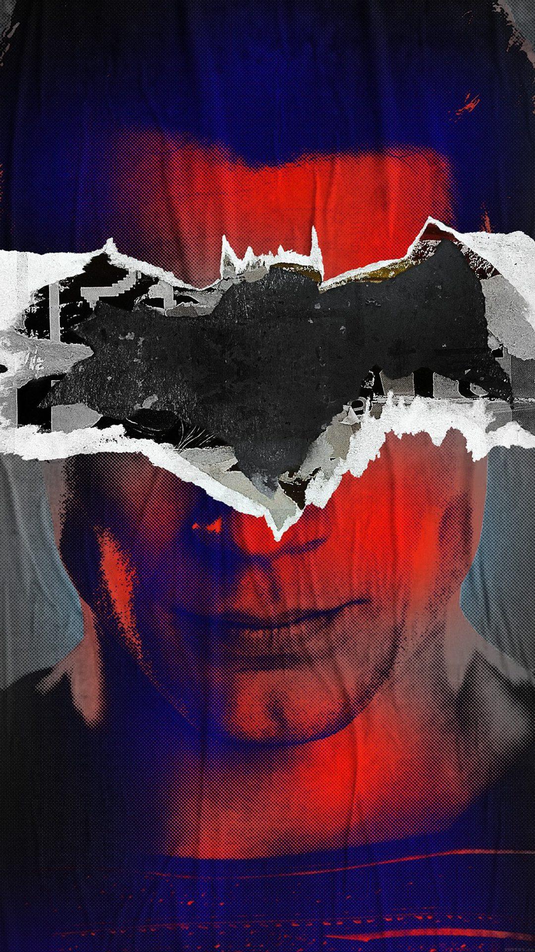 Batman Superman Poster Illust Art Film Dark