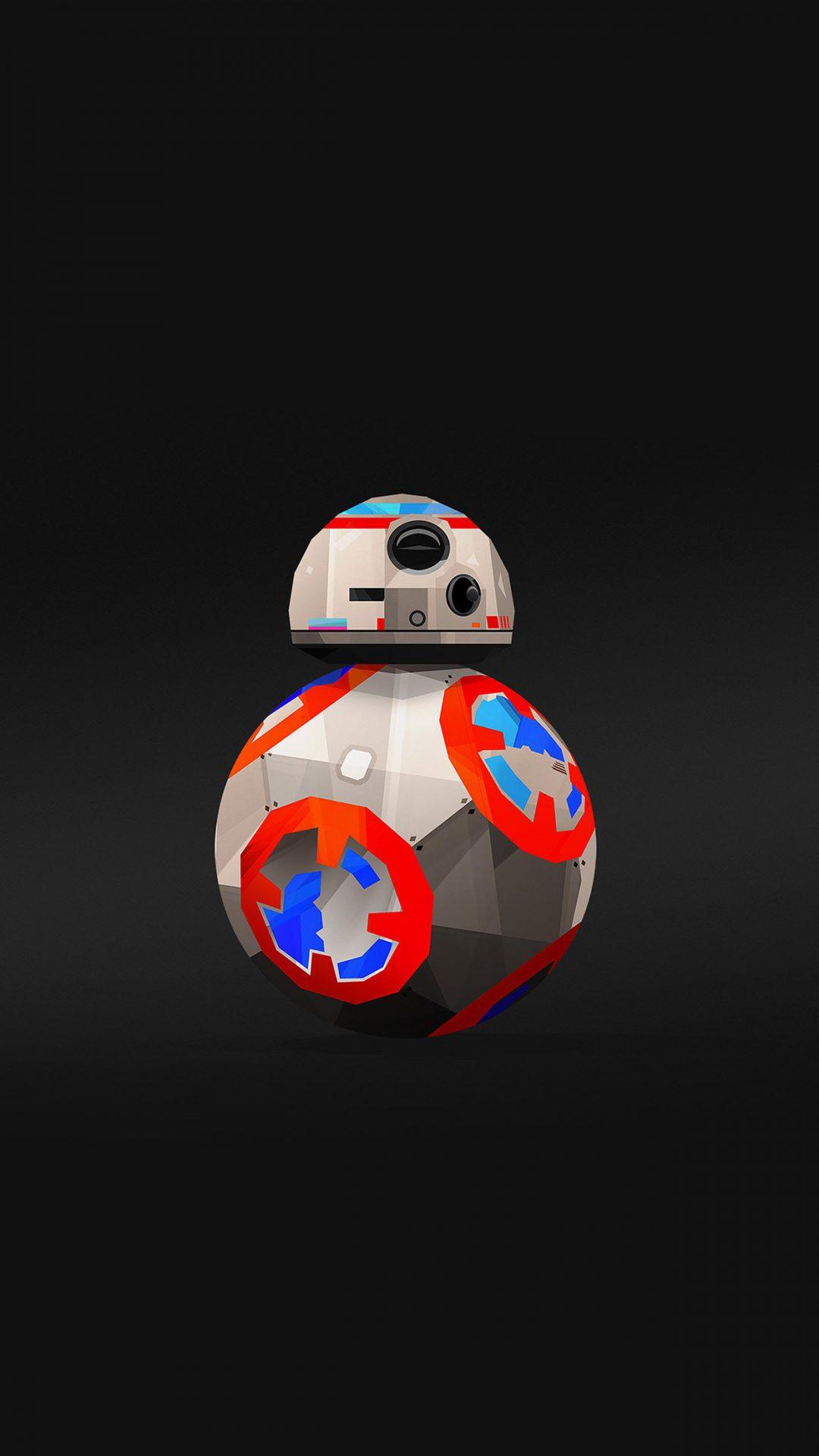Bb 8 Droid Starwars Robot Art Film