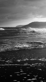 Beach Costal Nature Sea Water Summer Bw Summer Flare