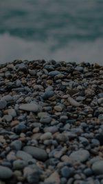 Beach Stones Sea Nature Dark