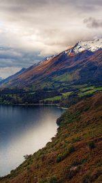 Beautiful Road In World Love Mountain Lake Nature