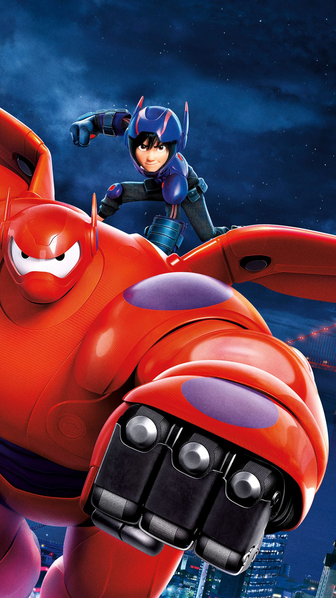 Big Hero Disney Illust Art Film