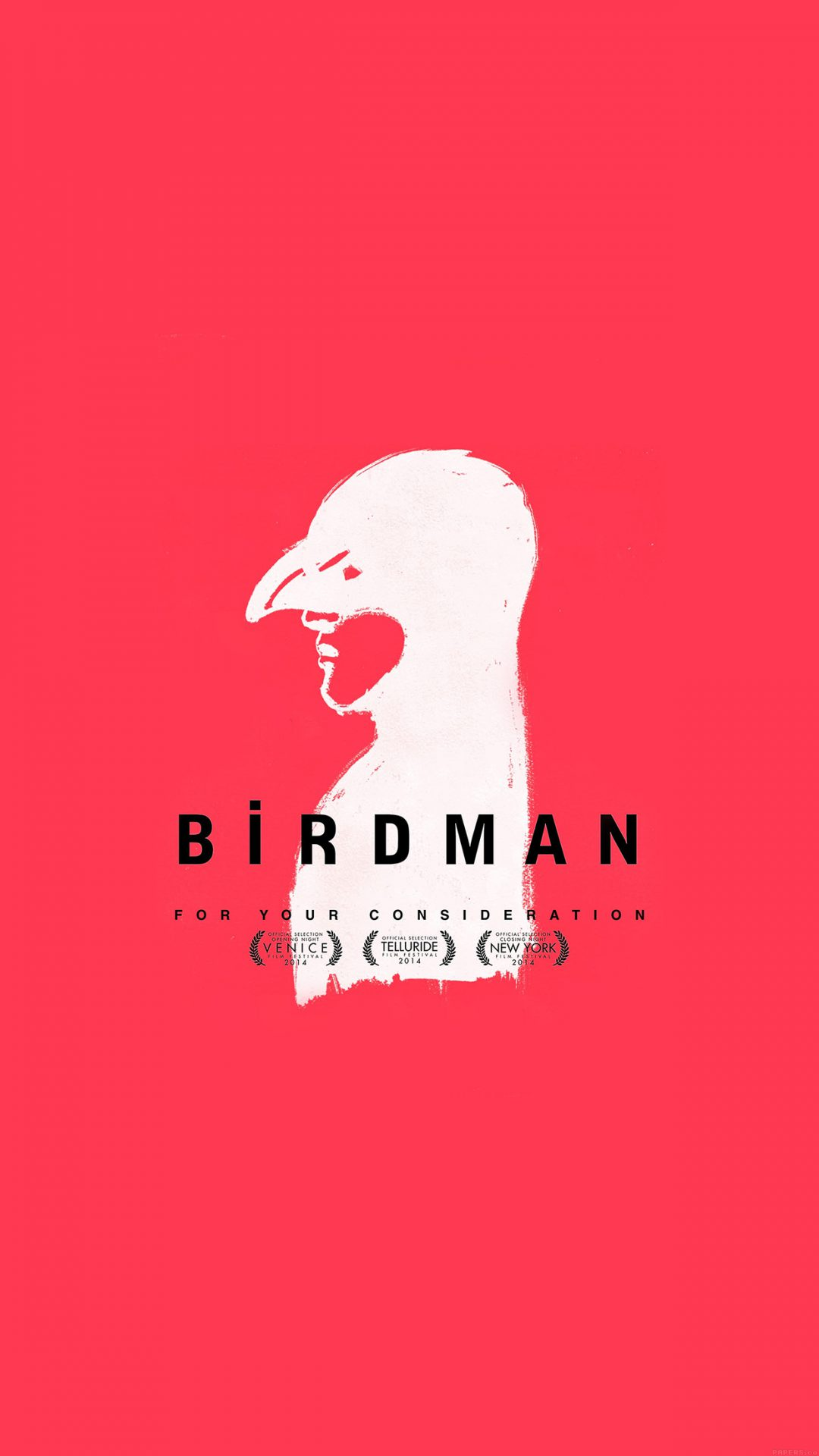 Birdman Poster Red Film