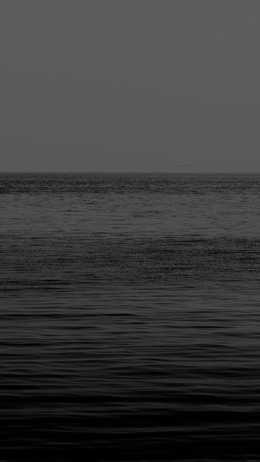 Black Sea Ocean Flat Nature