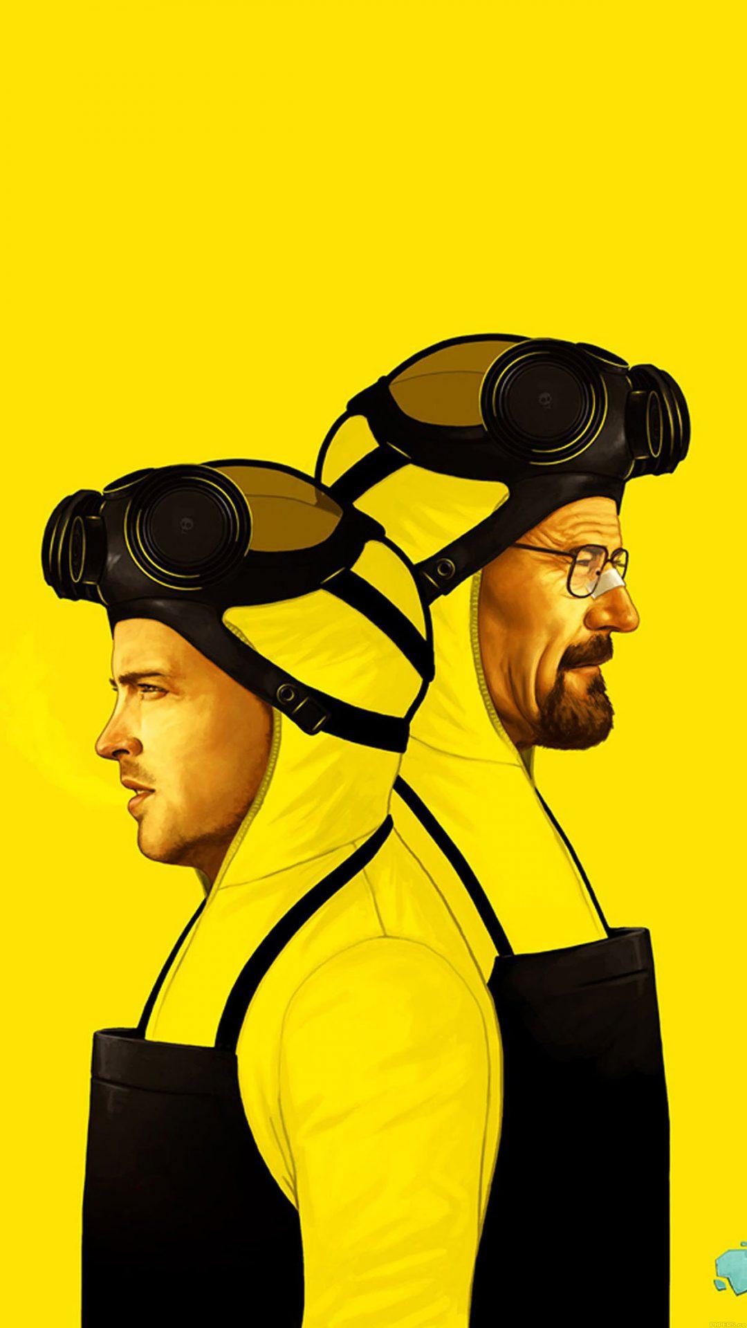 Breaking Bad Yellow Film Art