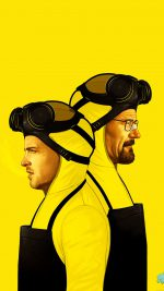 Breaking Bad Yellow Film Art