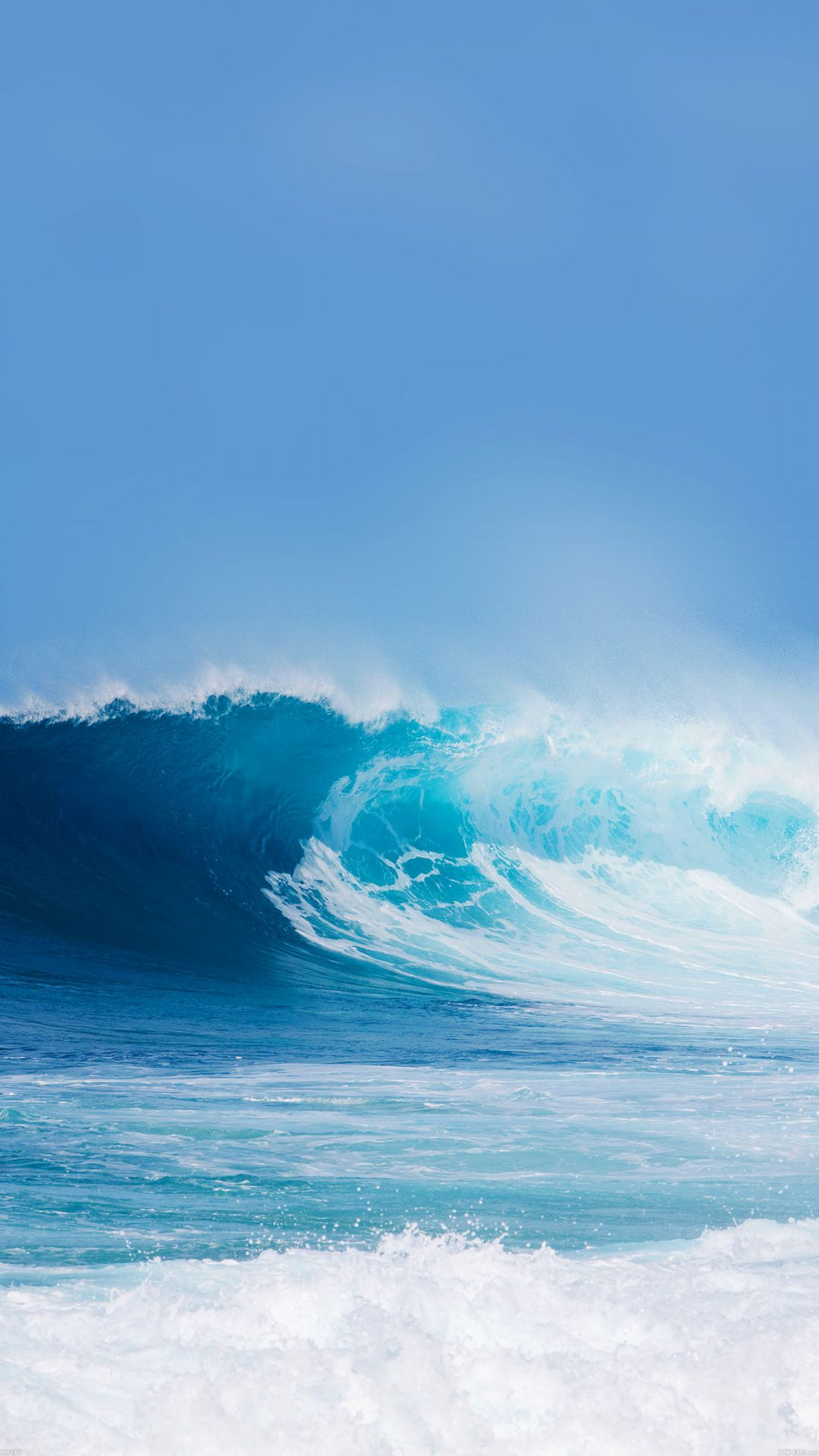 Breaking Wave Ocean Sea Day Nature