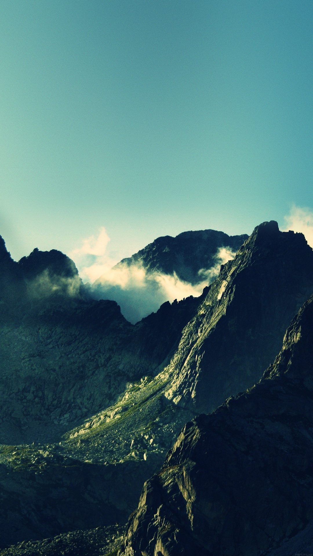 Breath Taking Mountains Sky High Nature