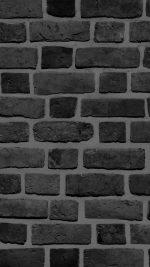 Brick Texture Wall Bw Black Nature Pattern