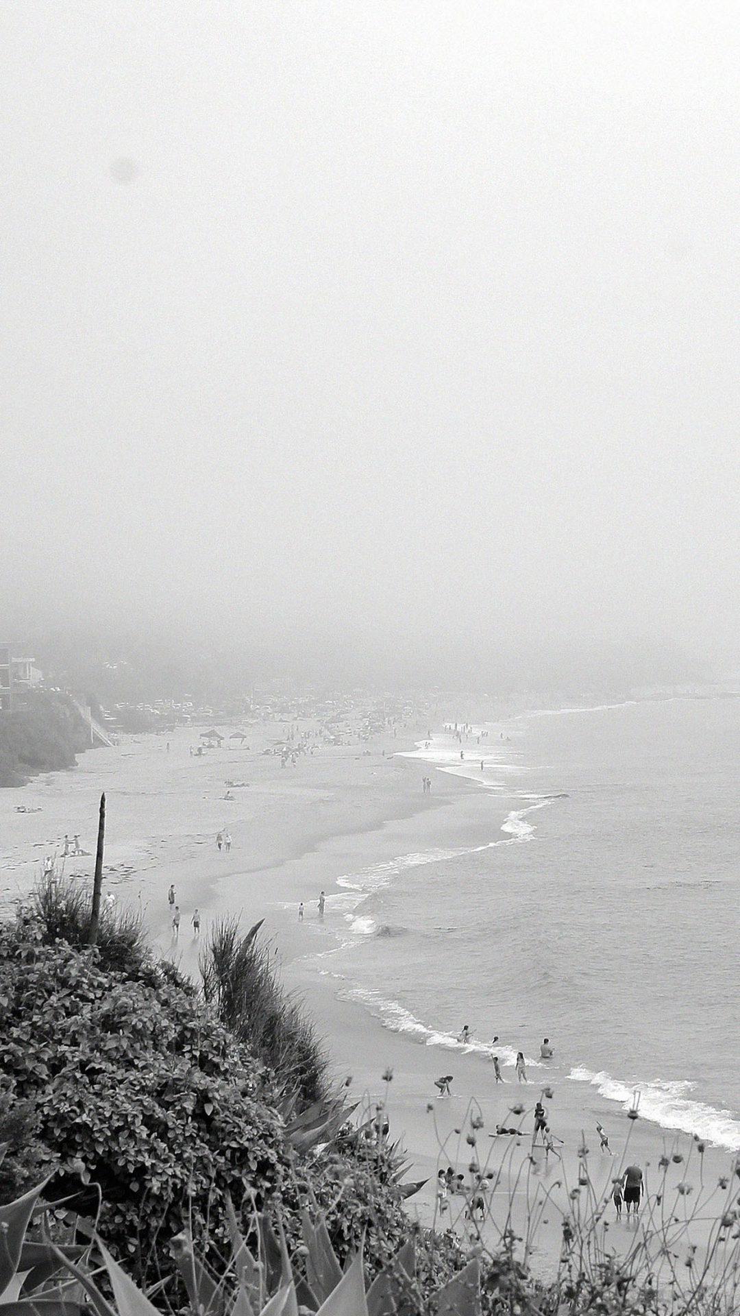 Bw Beach B Sea Nature