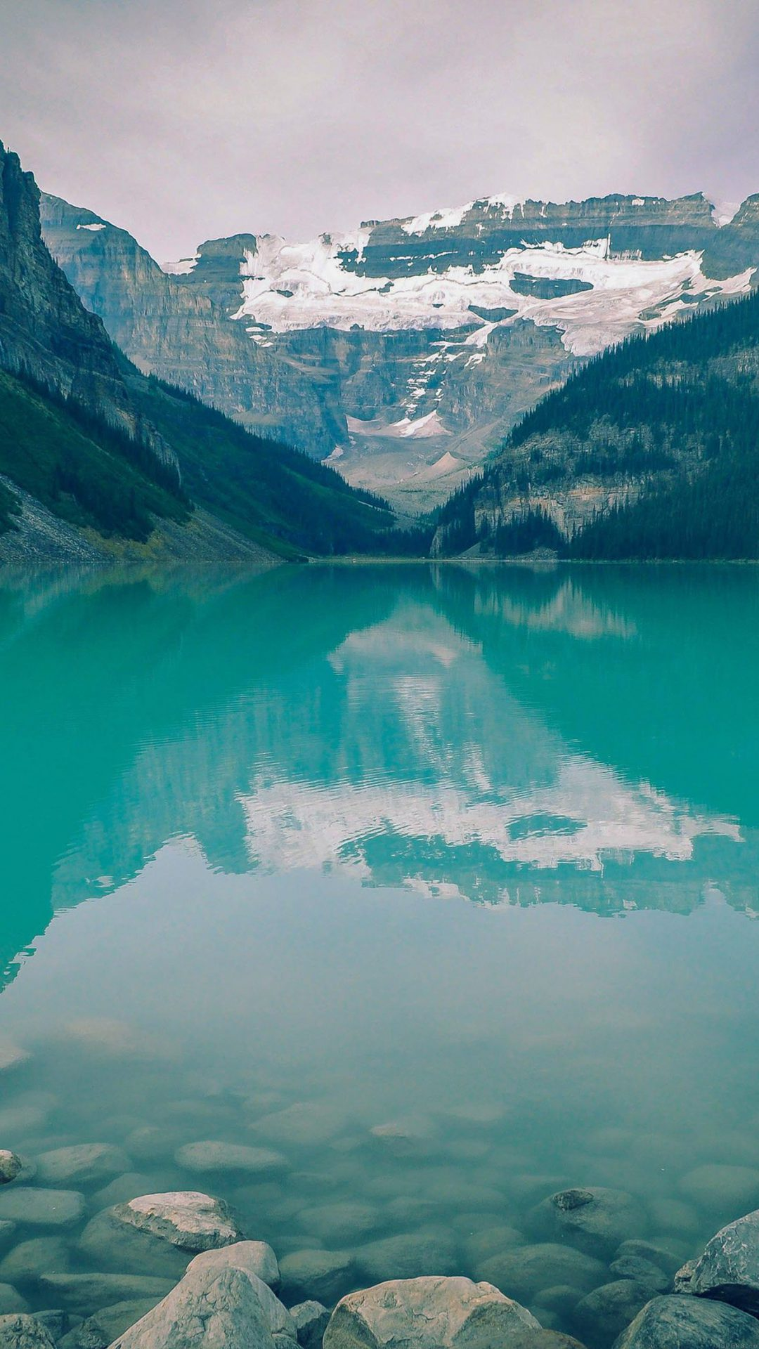 Canada Lake Blue Louise Green Water Nature