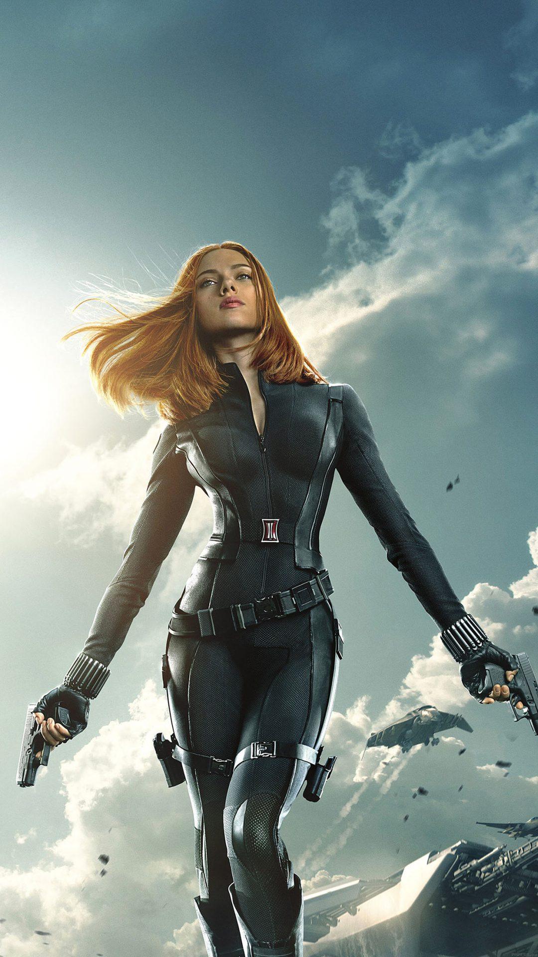 Captain America Black Widow Film Face