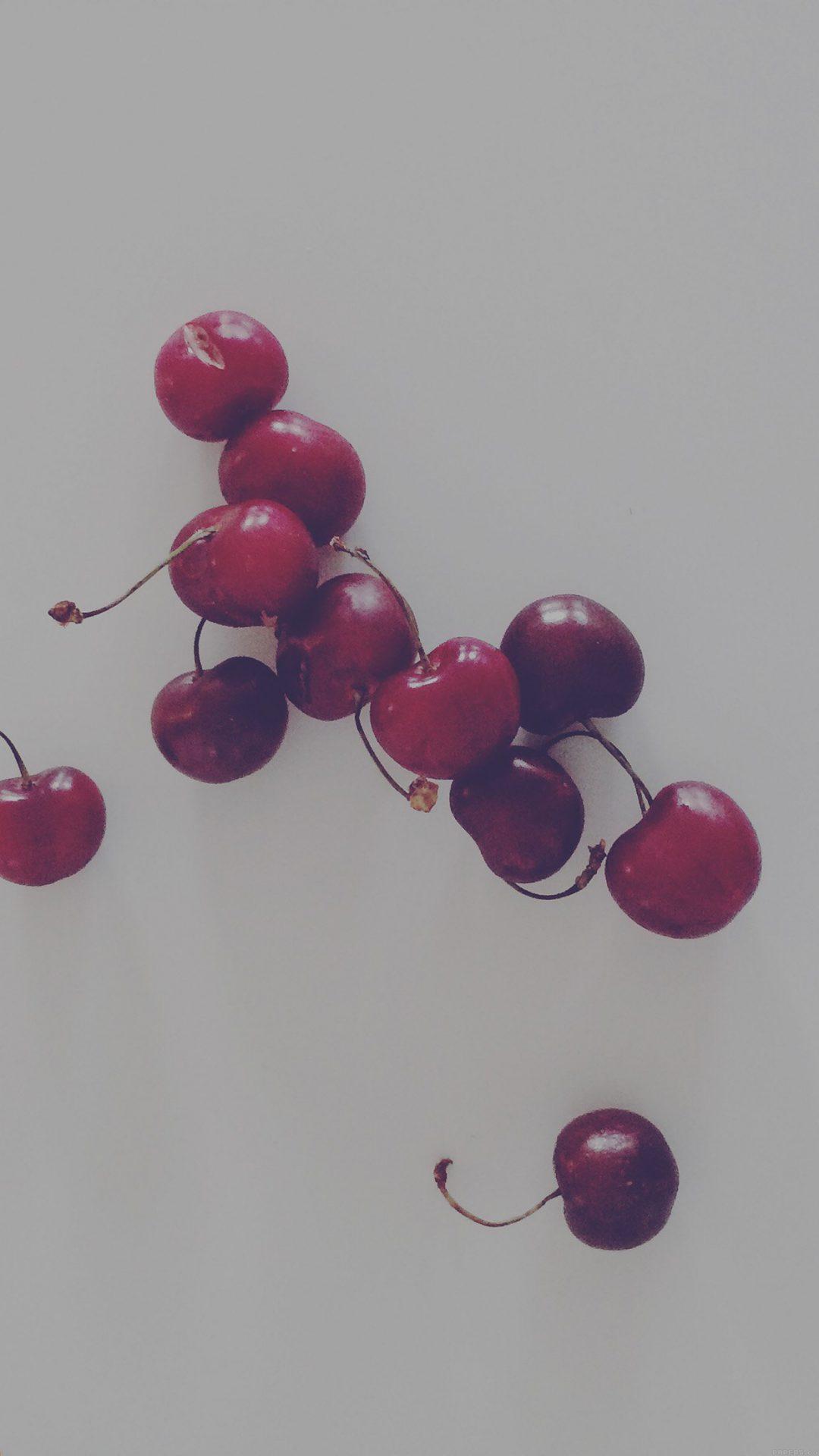 Cherry Red Dark Paula Borowska Fruit Nature