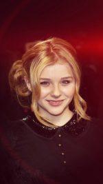 Chloe Moretz Dark Smile Film Cute Flare Red