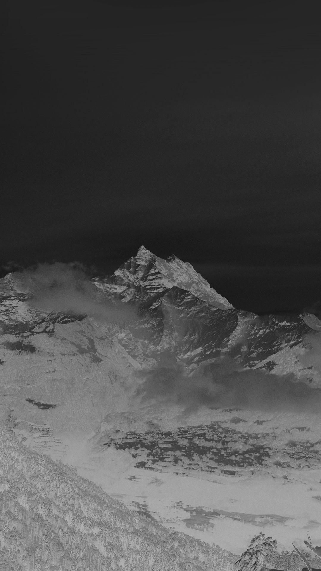 Cold Mountain Snow Nomore Nature Cloud Dark