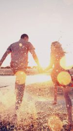 Couple Love Beach Happy Marry Me Nature Dark