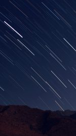 Dark Night Sky Star Nature