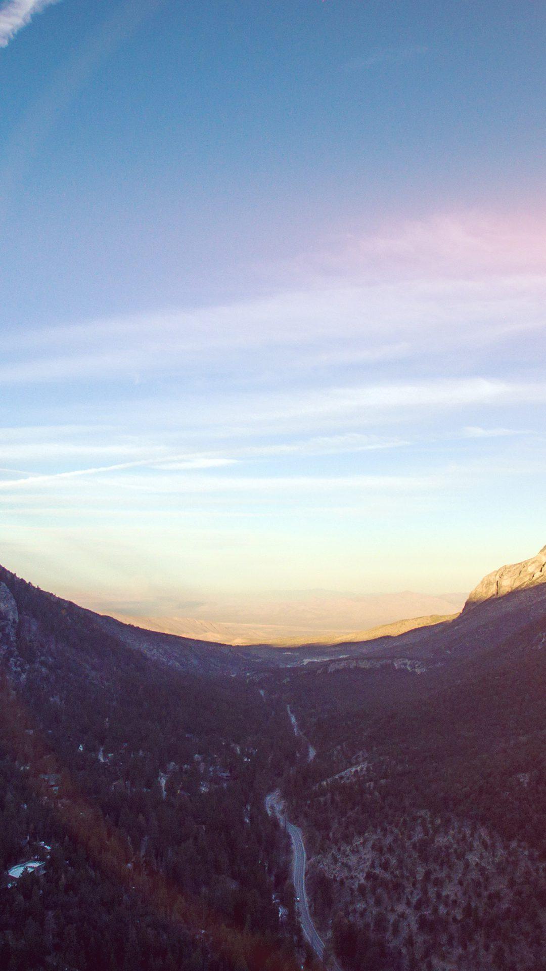 Dawn Mountain Landscape Nature Flare